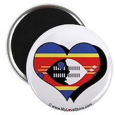 """I Love Swaziland 2.25"""" Magnet (100 pack)"""