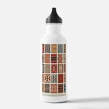 Art of Navajo Weaving Water Bottle