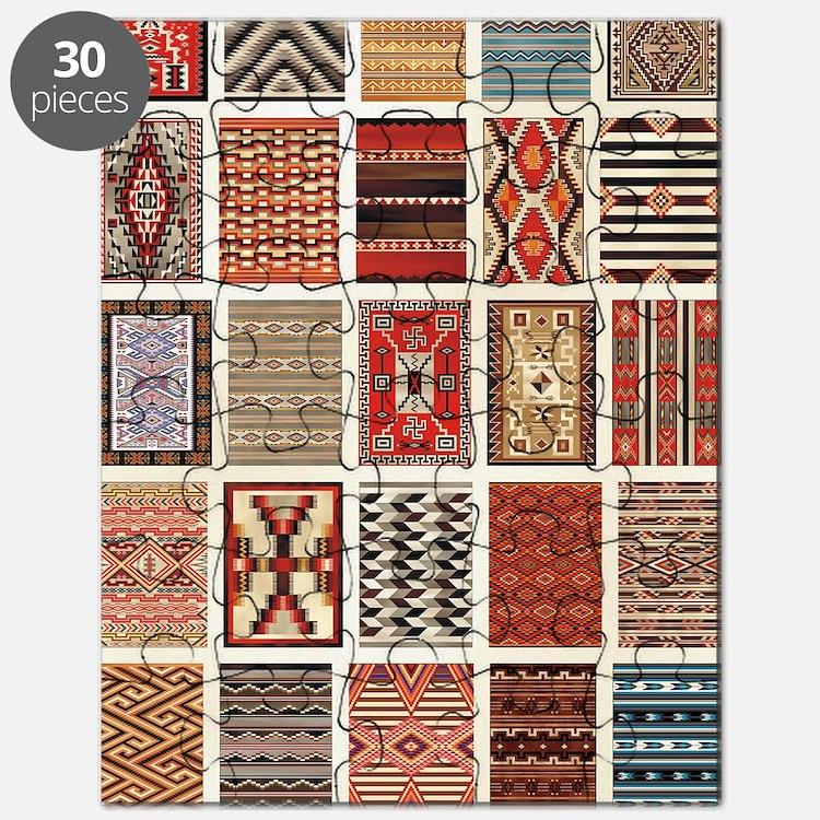 Art of Navajo Weaving Puzzle