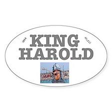 KING HAROLD 1066 MLXVI Decal