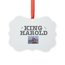 KING HAROLD 1066 MLXVI Ornament