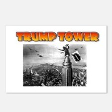 KING KONG - TRUMP TOWER - Postcards (Package of 8)