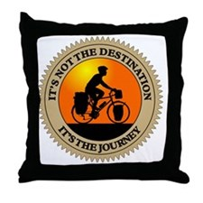 Its The Journey Throw Pillow