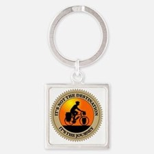 Its The Journey Square Keychain