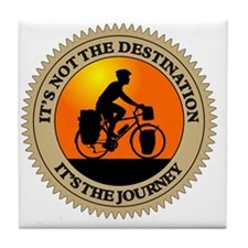 Its The Journey Tile Coaster