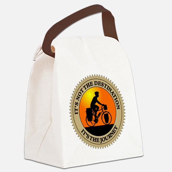 Its The Journey Canvas Lunch Bag