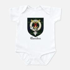 Gordon Clan Crest Tartan Infant Bodysuit