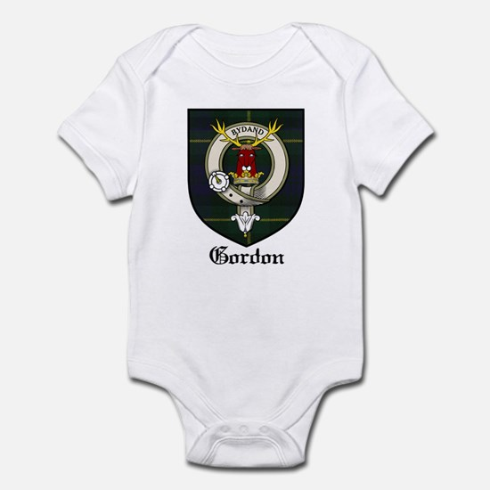 Gordon Clan Crest Tartan Infant Bodysuit