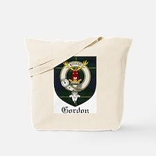 Gordon Clan Crest Tartan Tote Bag