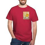 Yellow Bald West Dark T-Shirt