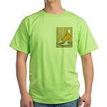 Yellow Bald West Green T-Shirt