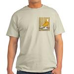 Yellow Bald West Light T-Shirt