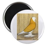 "Yellow Bald West 2.25"" Magnet (100 pack)"