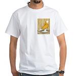 Yellow Bald West White T-Shirt