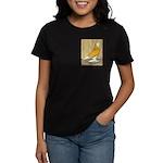 Yellow Bald West Women's Dark T-Shirt