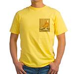 Yellow Bald West Yellow T-Shirt