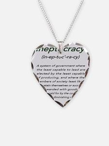 INEPTOCRACY Necklace