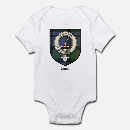 Gunn Clan Crest Tartan Infant Bodysuit