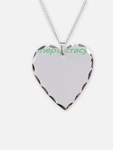 Ineptocracy3-W-Gr Necklace