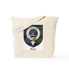 Gunn Clan Crest Tartan Tote Bag