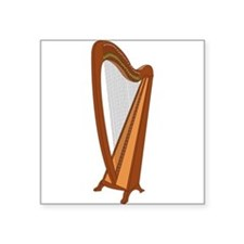 Harp Sticker