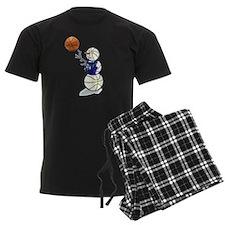 Basketball Snowman Pajamas