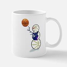 Basketball Snowman Mug