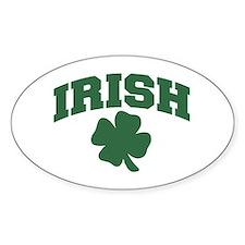 Irish Oval Decal