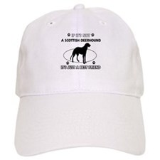 SCOTTISH DEERHOUND designs Baseball Cap