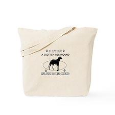 SCOTTISH DEERHOUND designs Tote Bag