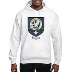 Inglis Clan Crest Tartan Hooded Sweatshirt