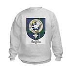 Inglis Clan Crest Tartan Kids Sweatshirt