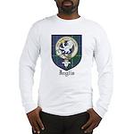 Inglis Clan Crest Tartan Long Sleeve T-Shirt