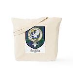 Inglis Clan Crest Tartan Tote Bag