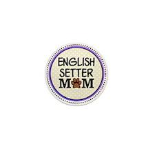 English Setter Dog Mom Mini Button