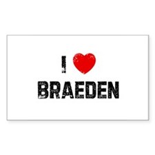 I * Braeden Rectangle Decal