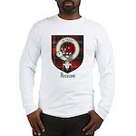 Innes Clan Crest Tartan Long Sleeve T-Shirt