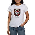 Innes Clan Crest Tartan Women's T-Shirt