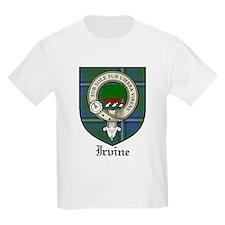 Irvine Clan Crest Tartan Kids T-Shirt