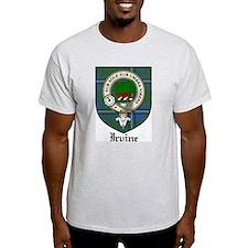 Irvine Clan Crest Tartan T-Shirt