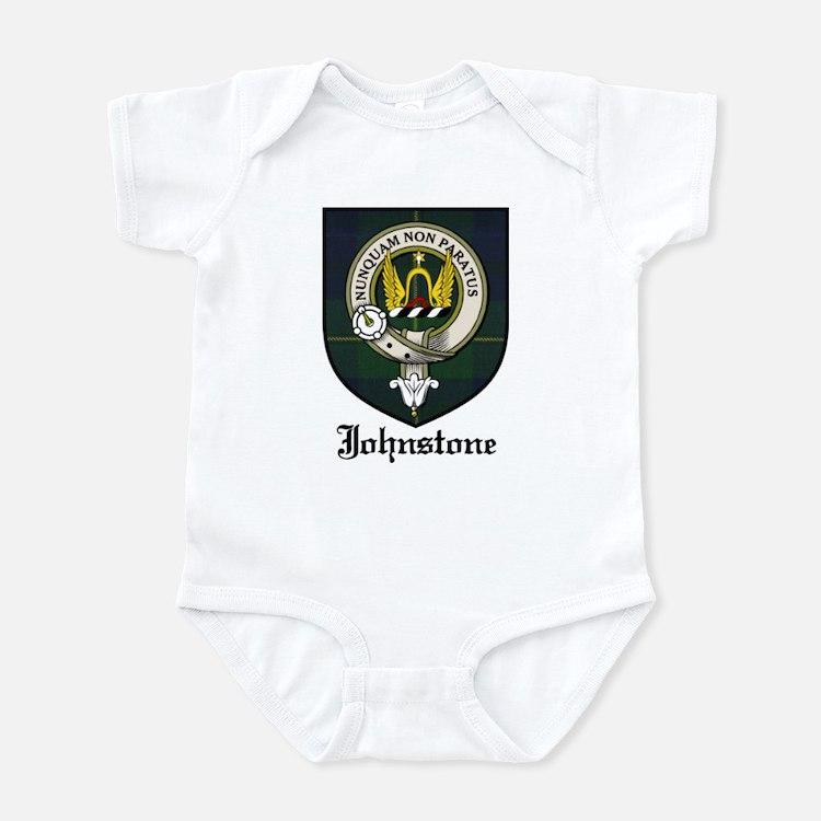 Johnstone Clan Crest Tartan Infant Bodysuit