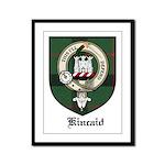 Kincaid Clan Crest Tartan Framed Panel Print