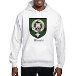 Kincaid Clan Crest Tartan Hooded Sweatshirt