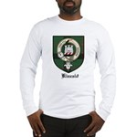 Kincaid Clan Crest Tartan Long Sleeve T-Shirt