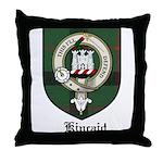 Kincaid Clan Crest Tartan Throw Pillow