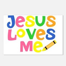 Jesus Loves Me - Kids Han Postcards (Package of 8)