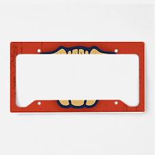 pug-glasses-OV License Plate Holder