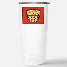 pug-glasses-OV Travel Mug
