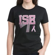 ISE initials, Pink Ribbon, Tee