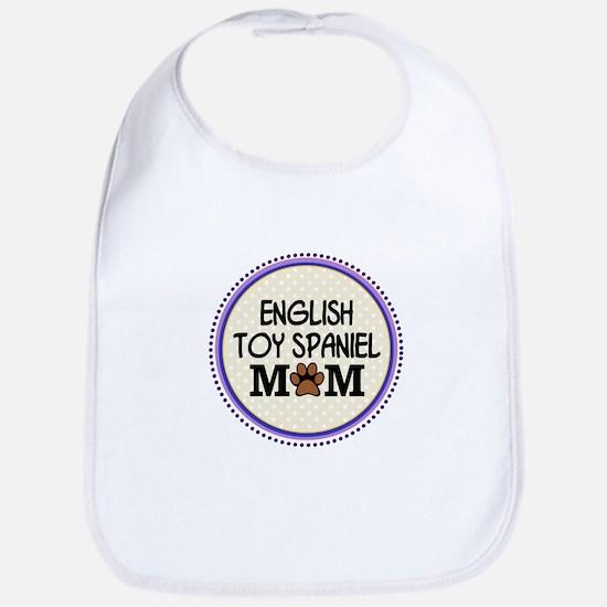 English Toy Spaniel Dog Mom Bib
